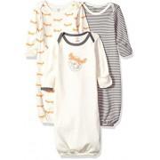 Touched by Nature Baby Bañador de algodón orgánico (3 Unidades), Fox, 0-6 Meses