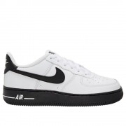 Nike Air Force 1 CV7663101 universal toute l'année chaussures pour enfants blanc/noir 6 Kid UK / 7 US / 40 EUR / 25 cm