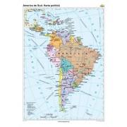 America de Sud. Harta politică 70x100 cm
