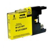 BROTHER LC1280 XL Y yellow - kompatibilná náplň do tlačiarne Brother