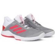 ADIDAS ADIZERO CLUB W Running Shoe For Women(Grey)