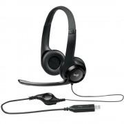 Casti Audio USB H390 Cu Microfon Negru LOGITECH