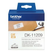 Brother 800 ETICH ADES CAR NER0 BIANC 29X62 - DK11209