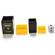 Crqes 1 Pcs Telescope Binoculars Listen Dice Magic Toys Talking Dice Box-magic Props Random Color