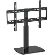 Fitueyes Universal TV Stand/Base Swivel Tabletop TV Stand with Mount for 32 to 65 inch Flat Screen Tvs/Xbox One/tv Component/Vizio Tv TT107002GB