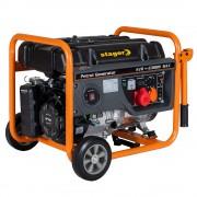 Stager GG 7300-3W generator open-frame 5.8kW, trifazat, benzina, pornire la sfoara