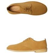 Clarks Originals Mens Desert London Suede Shoe Ochre Ochre