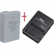 Nikon EN-EL14A Battery + CHARGER for D-3100 D5100 P700 FREE CABLE + WARRANTY