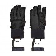 Norröna Røldal dri Short Leather Gloves, XL, Caviar