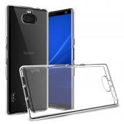 Capa de TPU Imak UX-5 para Sony Xperia 10 Plus - Transparente