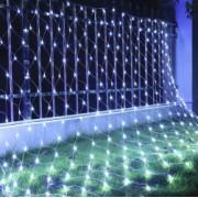Instalatie de Craciun Flippy Tip Plasa 1.5 x 1.5 m 120 LED-uri Interconectabila Alb Rece