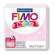 Gyurma, 42 g, égethető, FIMO Kids, gyöngyház világos rózsaszín (FM8030206)
