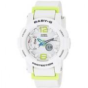 Casio Baby-G Analog-Digital White Dial Womens Watch - BGA-180-7B2DR (BX027)