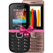 Combo of Gfive U220 (Black) + Gfive Z8 (Rose gold) 1.8 Inch Dual Sim Mobile Phone with FM Bluetooth.