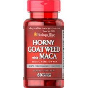 vitanatural horny goat weed with maca 60 capsules