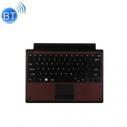 TH13 for Microsoft Surface Pro 3 & Pro 4 Bluetooth Wireless Keyboard with Touchpad(Brown)