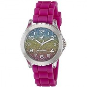 Fastrack Trendies Analog Multi-Colour Dial Womens Watch-68009PP03
