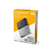 DD EXTERNO PORTATIL 4TB WD MY PASSPORT ULTRA NEGRO-PLATA/METALICO/2.5/USB3.0/COPIA LOCAL/ENCRIPTACION/WIN