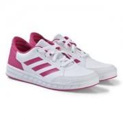adidas Performance AltaSport Velcro Junior Sneakers Vit/Rosa Barnskor 37 13 (UK4 12)