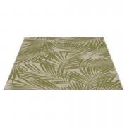 Tapijt Kerala - groen/naturel - 160x230 cm - Leen Bakker