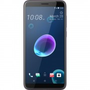 "Smartphone, HTC Desire 12, Dual SIM, 5.7"", Arm Quad (1.5G), 3GB RAM, 32GB Storage, Android 8.0, Silver (99HAPD005-00)"