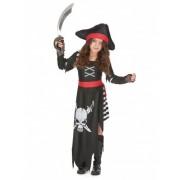 Vegaoo Piraten Kapitäns-Kostüm für Mädchen
