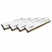 Kingston 32gb Ddr4-2933mhz cl17 dimm (kit of 4)1rx8 Hyperx fury White