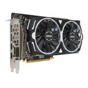 Видеокарта MSI Radeon RX 580 1340Mhz PCI-E 3.0 8192Mb 8000Mhz 256 bit DVI 2xHDMI HDCP RX 580 ARMOR 8G