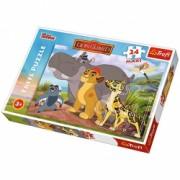 Puzzle Garda Felina 24 piese