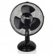 Ventilator de birou Floria ZLN-1211, 25 W, 2 trepte de viteza, Functie oscilare