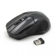 Sbox Mouse Ottico 6D Micro Ricevitore USB Wireless 800-1600 dpi Nero