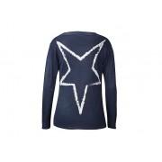 Weltbild Dlouhý jemný svetr s šálovým límcem, tmavě modrý, vel. l