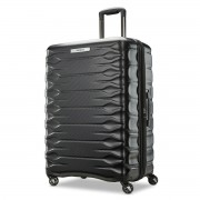 Samsonite Prisma 4 Wheel Hardside Spinner Black Suitcase/Luggage