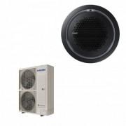 Samsung Condizionatore Mono Split 47600 Btu Cassetta 360 Pannello Circolare Nero Gas R-32 Trifase 14.0 kW WiFi OPT 380v