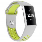 Banda de reloj correa muñeca silicona Twocolor para Fitbit Charge 3