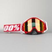 100% Cross Brille 100% Racecraft Fire Rot