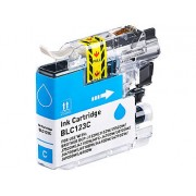 Tinten-Patrone für Brother-Drucker (ersetzt LC-123C), cyan (blau) | Druckerpatronen