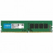 CRUCIAL RM UDIMM 8GB DDR4 2400 Unbuffered Retail CT8G4DFS824A