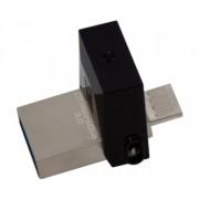 KINGSTON 64GB DataTraveler MicroDuo USB 3.0USB OTG flash DTDUO364GB crni
