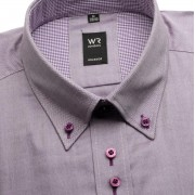 Bărbați cămașă slim fit Willsoor Londra 2161