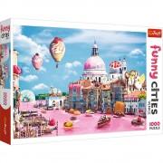 Puzzle Trefl 1000 piese - Prajiturele la Venetia
