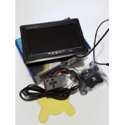 """7"""" LCD TFT цветен дисплей за кола"""
