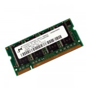 RAM PC Portable SODIMM Micron MT8VDDT3264HDG-335C3 DDR 333Mhz 256Mo PC-2700S CL2.5