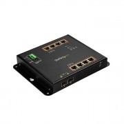 STARTECH.COM Startech Switch Ethernet Gigabit a 8 porte PoE+ con 2 Connessioni SFP Gestito Montabile a Parete con Accesso Frontale