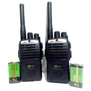 Portable InterPhone Walkie Talkie with LCD Display ( Includes Two 9 V Batteries)