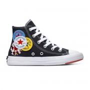 Converse All Stars Chuck Taylor Logo 366988C Zwart -30