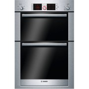 Bosch Serie 6 Logixx HBM56B551B Double Built In Electric Oven - Stainless Steel