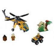 60158 Lego® City Elicopter De Marfa In Jungla