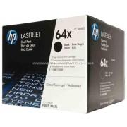 HP CC364XD Toner Bk 2*24k No.64XD Eredeti HP kellékanyag cikkszám: CC364XD