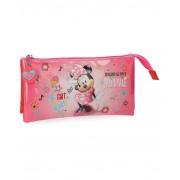 Disney Minnie Stickers Estuche Rosa